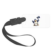 South Carolina Penguin Luggage Tag