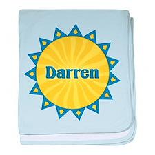 Darren Sunburst baby blanket