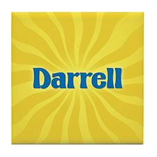 Darrell Sunburst Tile Coaster