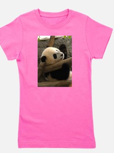 Baby Panda Ash Grey T-Shirt