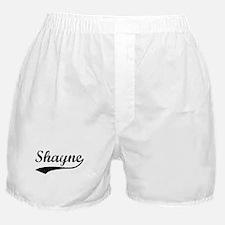 Vintage: Shayne Boxer Shorts