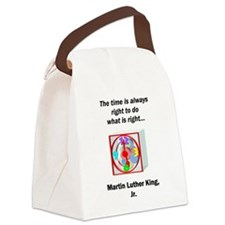 To Do What is Right Canvas Lunch Bag
