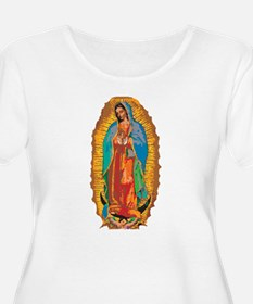 Our Lady of Guadalupe Women's Plus Tee