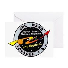 Voyager 1 & 2 Greeting Cards (Pk of 10)