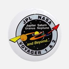 Voyager 1 & 2 Ornament (Round)