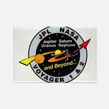 Voyager 1 & 2 Rectangle Magnet