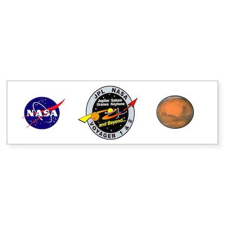 Voyager 1 & 2 Sticker (Bumper)