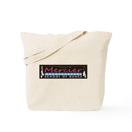 Dance logo Mercier School of Dance Tote Bag