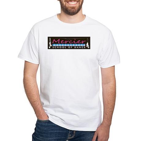 Dance logo Mercier School of Dance White T-Shirt