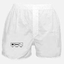 Eat, Sleep, Sing Boxer Shorts