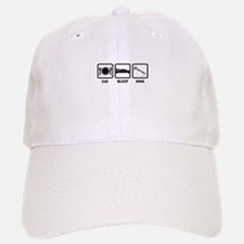 Eat, Sleep, Sing Baseball Baseball Cap