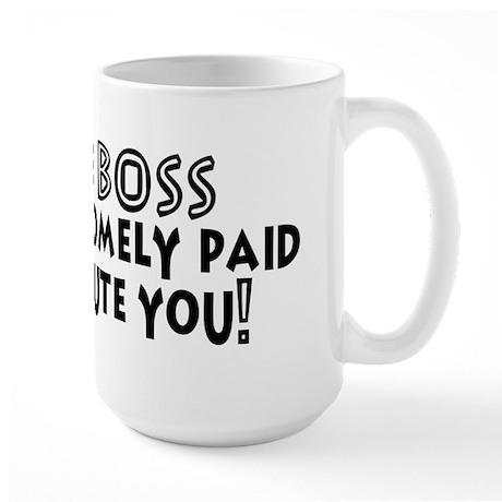 Fun Office Boss Large Mug
