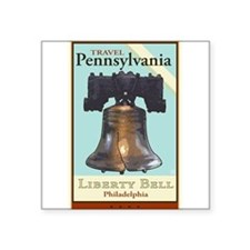 Travel Pennsylvania Rectangle Sticker