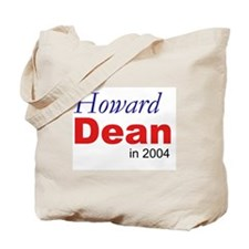 Dean in 2004 Tote Bag