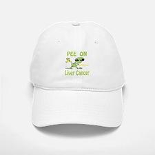 Pee on Liver Cancer Baseball Baseball Cap