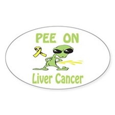 Pee on Liver Cancer Decal