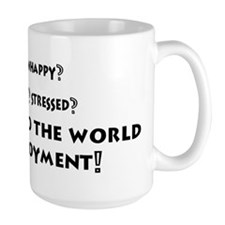 Office Coffee Mug Fun Bored, Unhappy