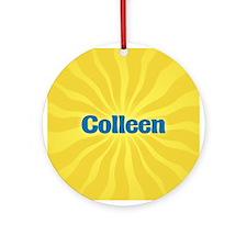 Colleen Sunburst Ornament (Round)