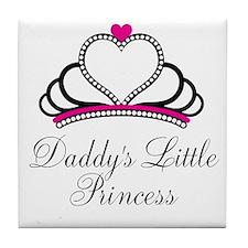 Daddys Little Princess Tile Coaster