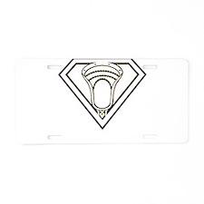 Lacrosse SuperLax Aluminum License Plate