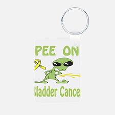Pee on Bladder Cancer Keychains