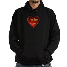 I Love Dogs! Rescue! Spay! Neuter! Adopt! Hoodie