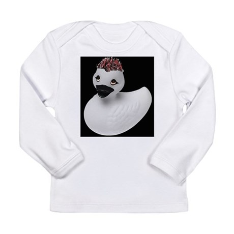 Goth Duck Long Sleeve Infant T-Shirt