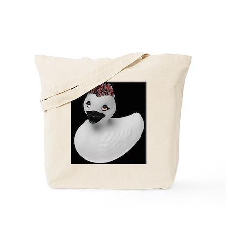 Goth Duck Tote Bag