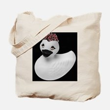 Goth Duck Tote Bag