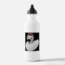 Goth Duck Water Bottle