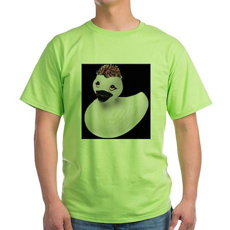 Goth Duck Green T-Shirt