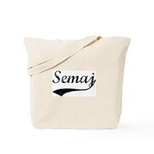 Vintage: Semaj Tote Bag