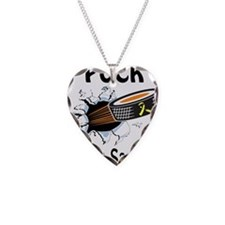 Puck Ewings Sarcoma Necklace Heart Charm