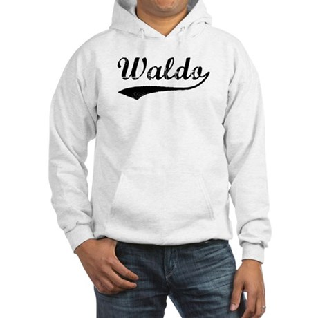 Vintage: Waldo Hooded Sweatshirt