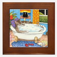 cat 567 Framed Tile