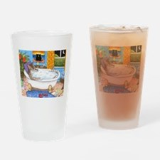cat 567 Drinking Glass