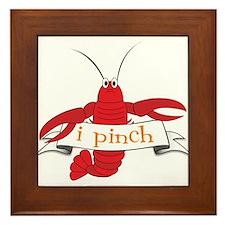 I Pinch Framed Tile