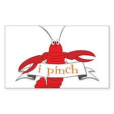 I Pinch Decal