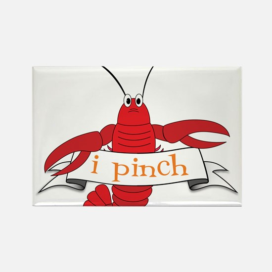 I Pinch Rectangle Magnet