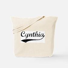 Vintage: Cynthia Tote Bag