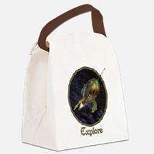 Explore Canvas Lunch Bag