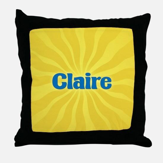 Claire Sunburst Throw Pillow