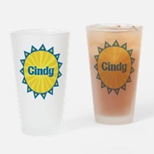 Cindy Sunburst Drinking Glass