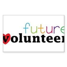 Future Volunteer Decal
