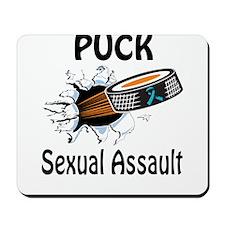 Puck Sexual Assault Mousepad