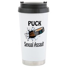 Puck Sexual Assault Travel Mug