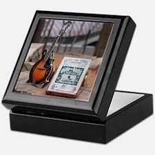 Mandolin at Crystal Bridges Trails Keepsake Box