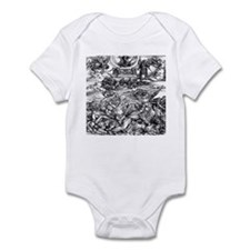 Four Avenging Angels Durer 14 Infant Bodysuit