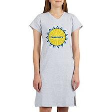 Cassandra Sunburst Women's Nightshirt