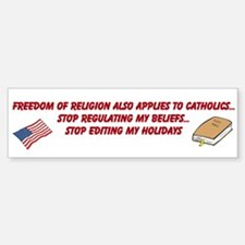 Custom Bumper Bumper Sticker